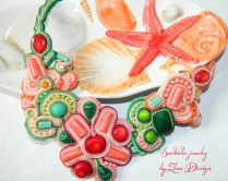 soutache coral starfish (40)