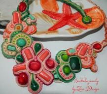 soutache coral starfish (6)