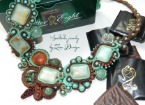 soutache mint and chocolate (95)