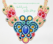 necklace soutache Mozaic (36)