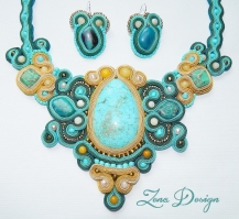 soutache necklace turquoise (18)