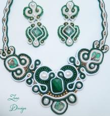 set soutache Emerald (16)