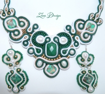 set soutache Emerald (25)
