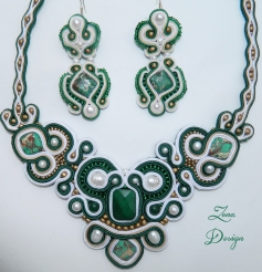 set soutache Emerald (29)