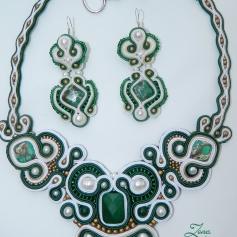 set soutache Emerald (32)