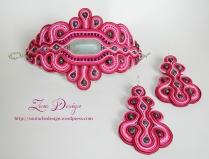 soutache bracelet and candelier earrings (61)