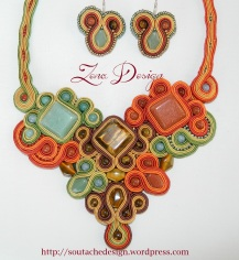 soutache mozaic brown and green (4)