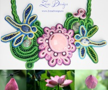 1. Inspiration Lotus and Dragonfly