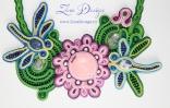 colier Lotus cu Libelule 6