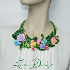 colier cu flori, flowers necklace (15)