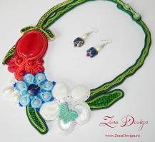 necklace spring flower (124)