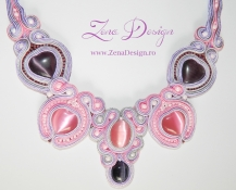 soutake necklace pink (6)