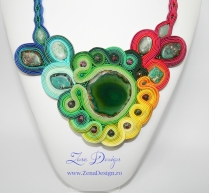 colier curcubeu rainbow necklace (2) - Copy