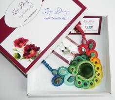 colier curcubeu rainbow necklace (49)