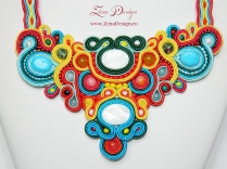 colier mozaic necklace (2)