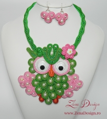 necklace Happy Owl (14)