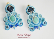 blue earrings soutache (10)