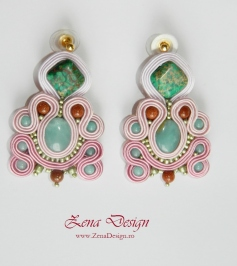 pink and green soutache earrings (8)