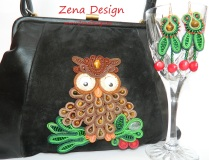 black purse with owl (40)