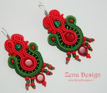 red and green earrings (10)
