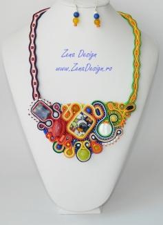Murano soutache necklace (62)
