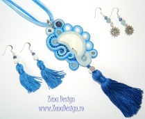 colier LUNA soutache necklace Moon (44)