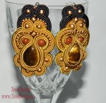 cercei-soutache-golden-tiger-3