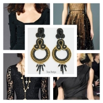 black_oversized_long_earrings_inspiration