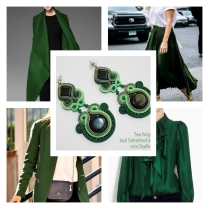 green-earrings-inspiration