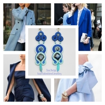 blue earrings inspiration