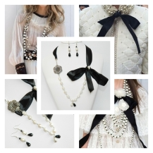 Chanel pearls inspiration