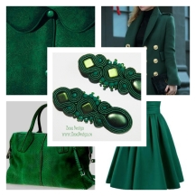 emerald green earrings inspiration