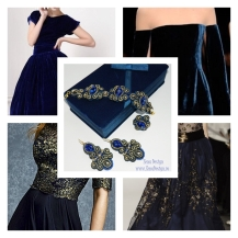blue jewelry inspiration