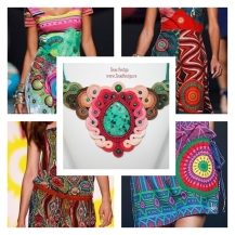 Desigual style necklace inspiration