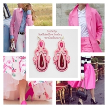 Fucsia earrings inspiration