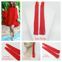 Oversized_red-tassel_earrings_