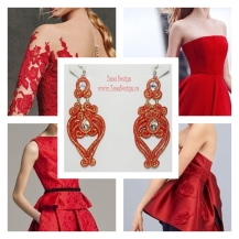 red earrings inspiration (2)