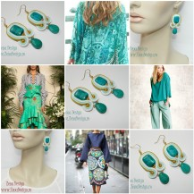Turquoise_white_earrings_inspiration