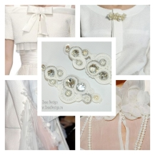white earrings inspiration